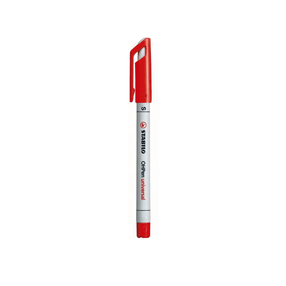 Stabilo Ohpen Watersoluble Superfine Red