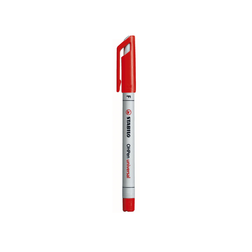 Stabilo Ohpen Watersoluble Fine Red