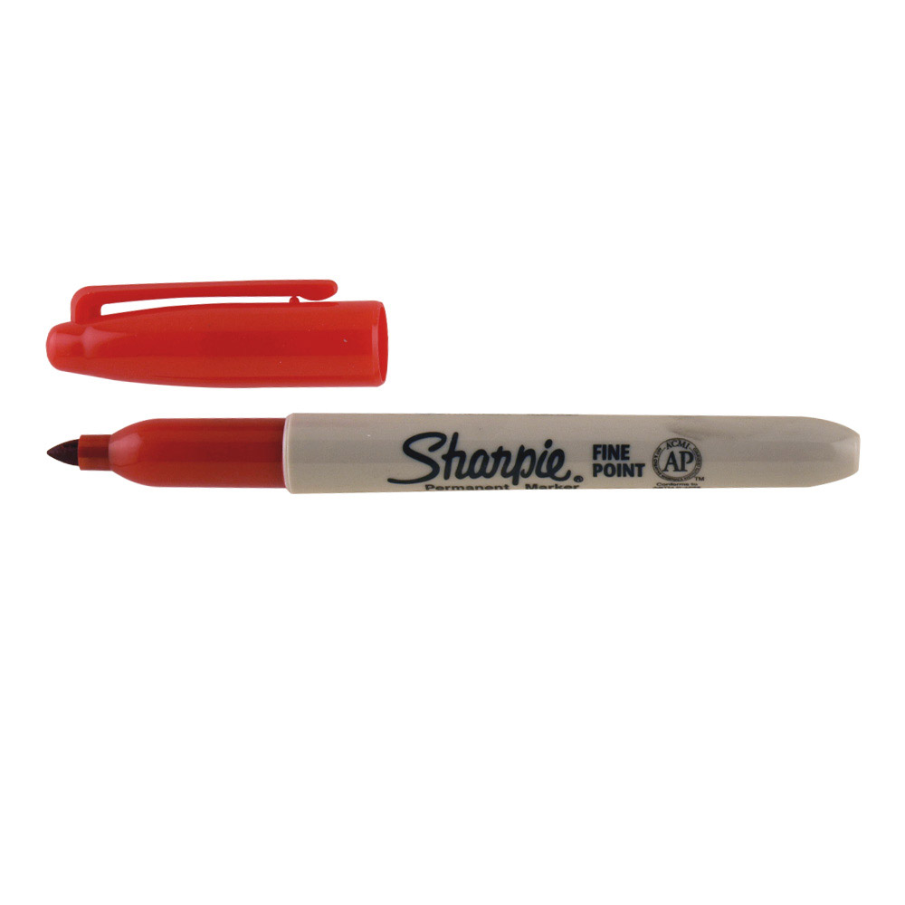 Sharpie Fine Marker Red