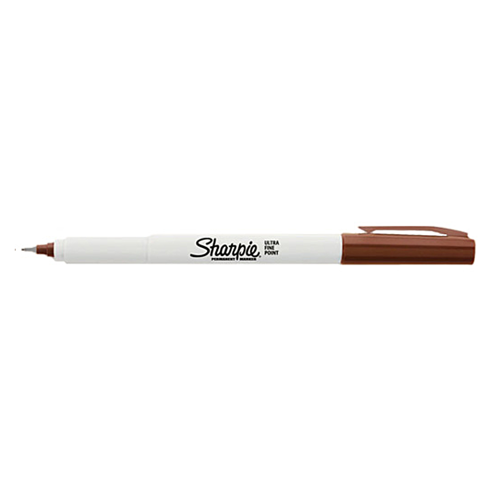 Sharpie Ultrafine Marker Brown