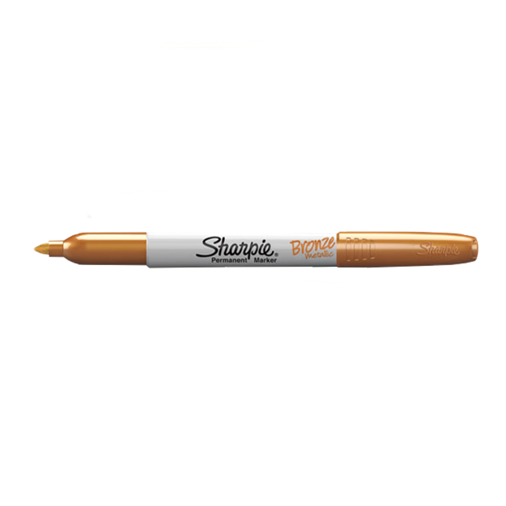 Sharpie Metallic Fine Marker Bronze
