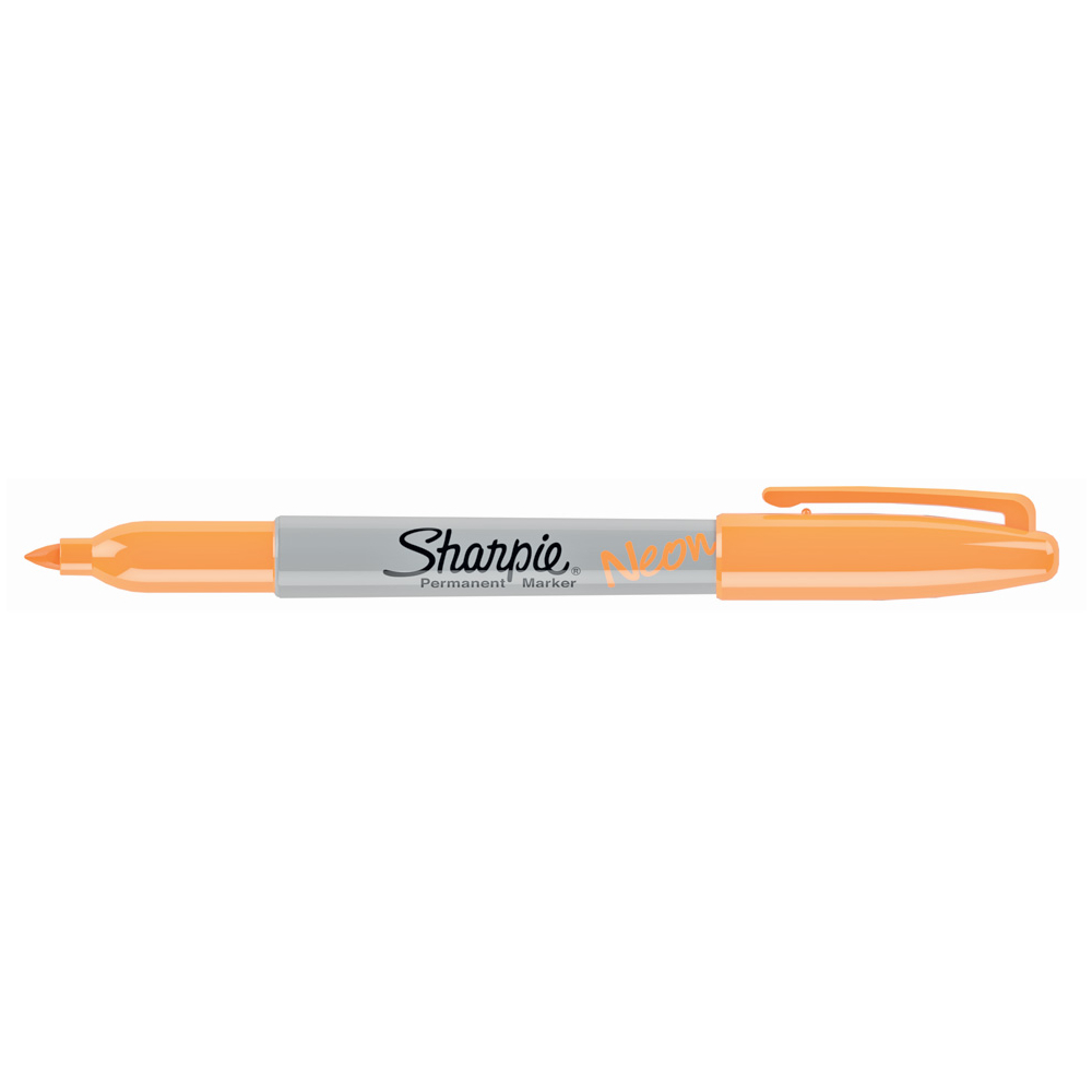 Sharpie Fine Marker Neon Orange