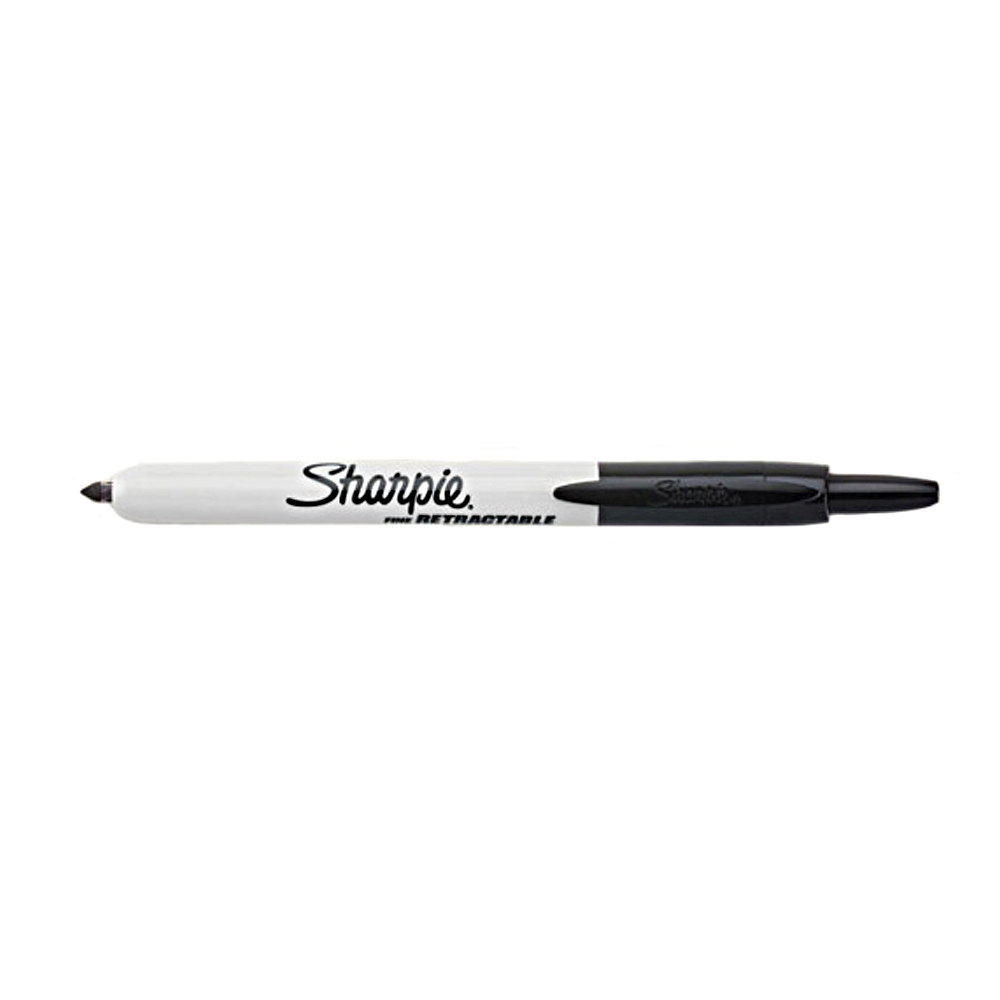 Sharpie Retractable Fine Point Black