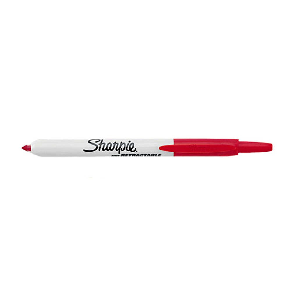 Sharpie Retractable Fine Point Red