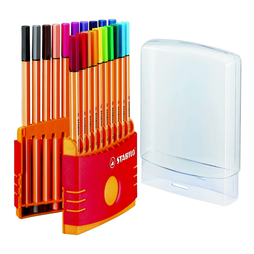 Stabilo 88 20-Color Parade Set