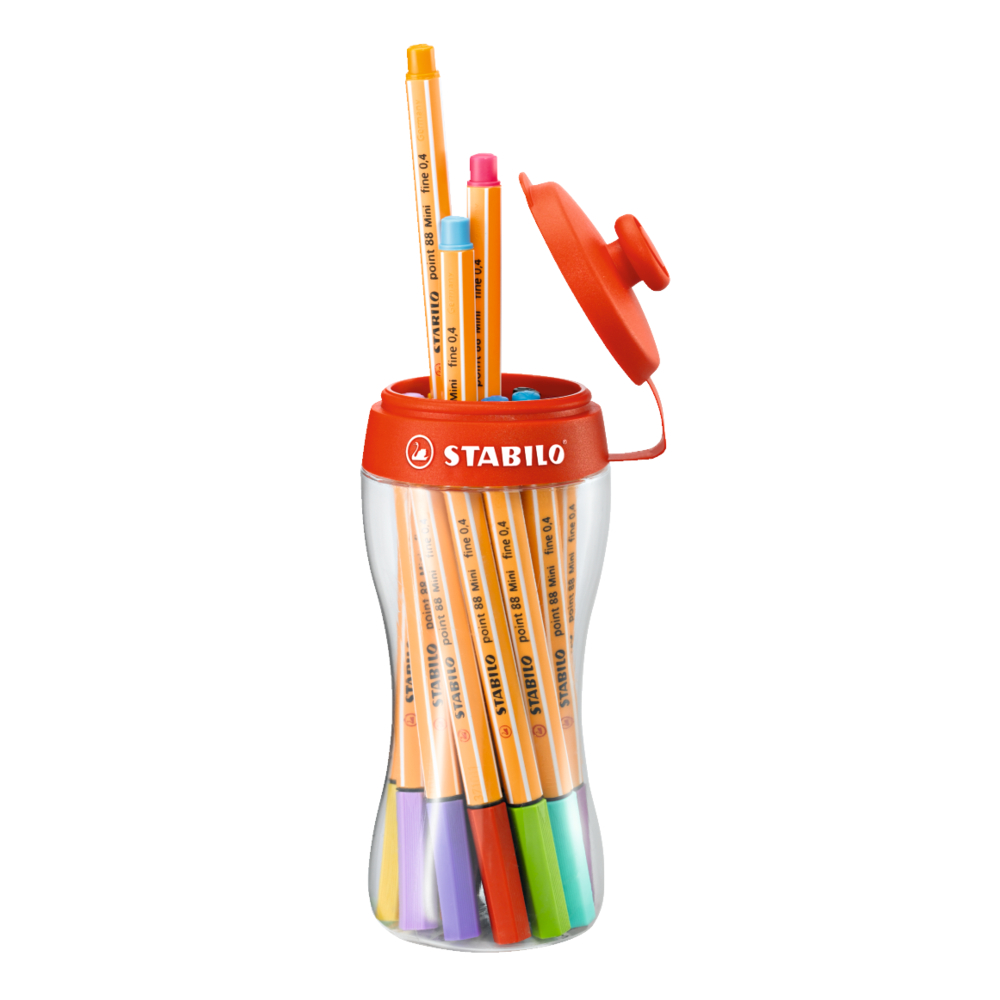 Stabilo Point 88 Mini 18-Color Sporty Set