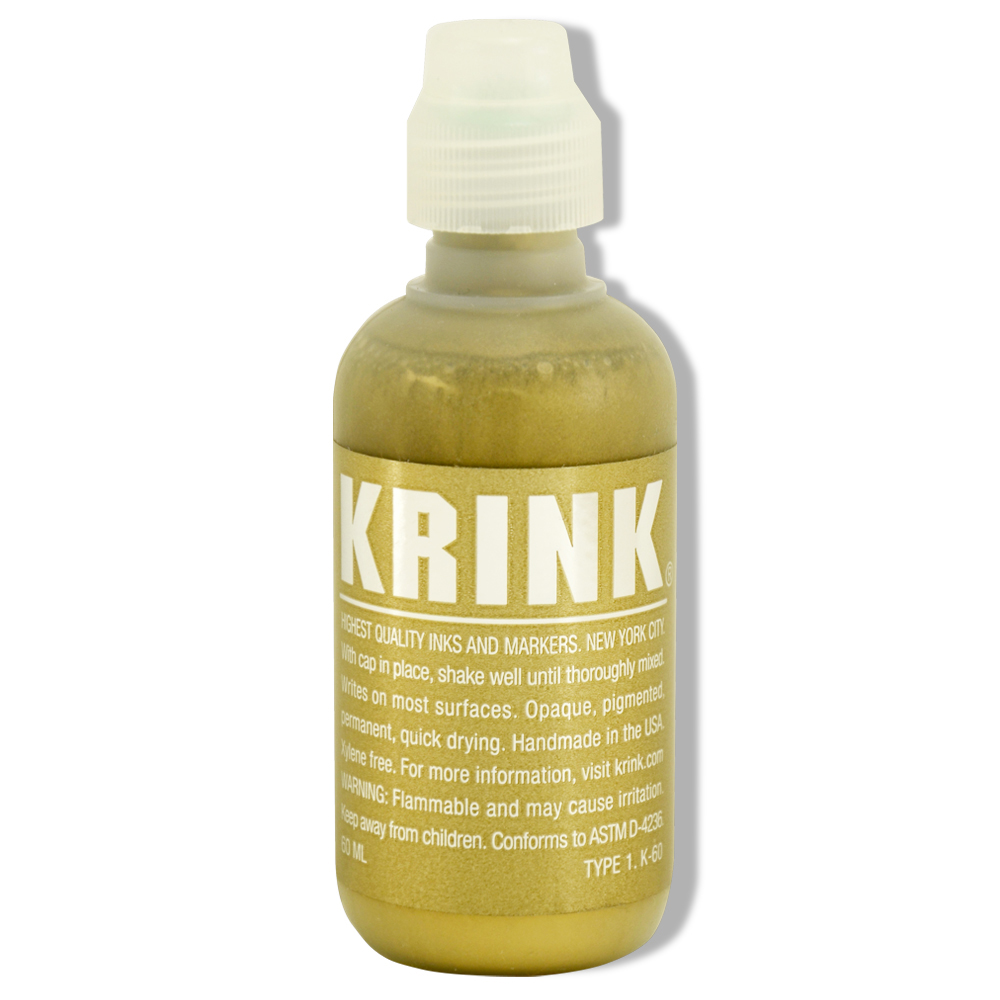 Krink K-60 Paint Marker Gold 60 Ml