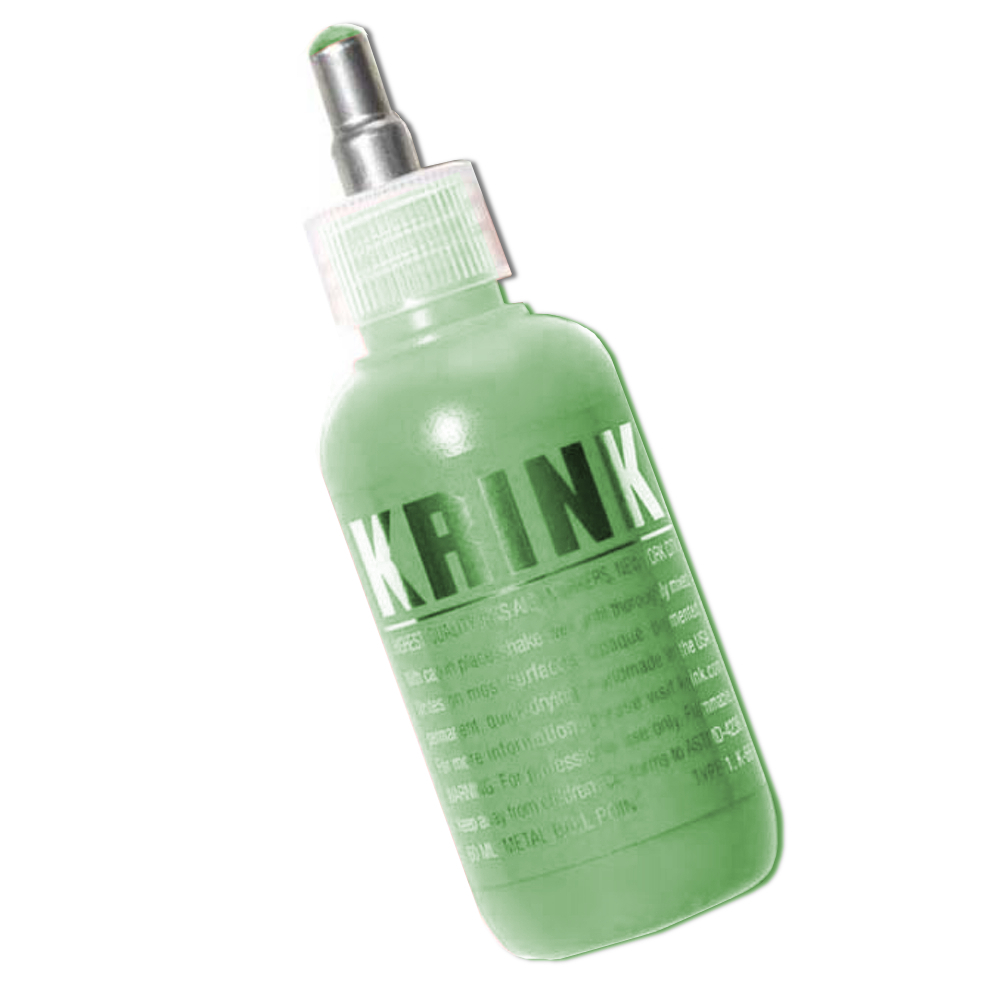 Krink K-66 Paint Marker Steel Tip Green 60Ml