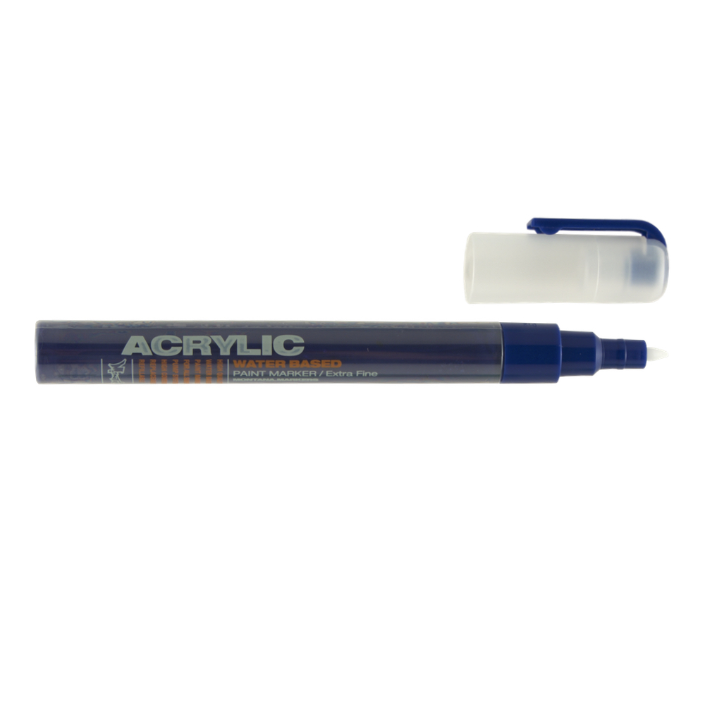Montana Acrylic Paint Marker .7Mm Blue Dark