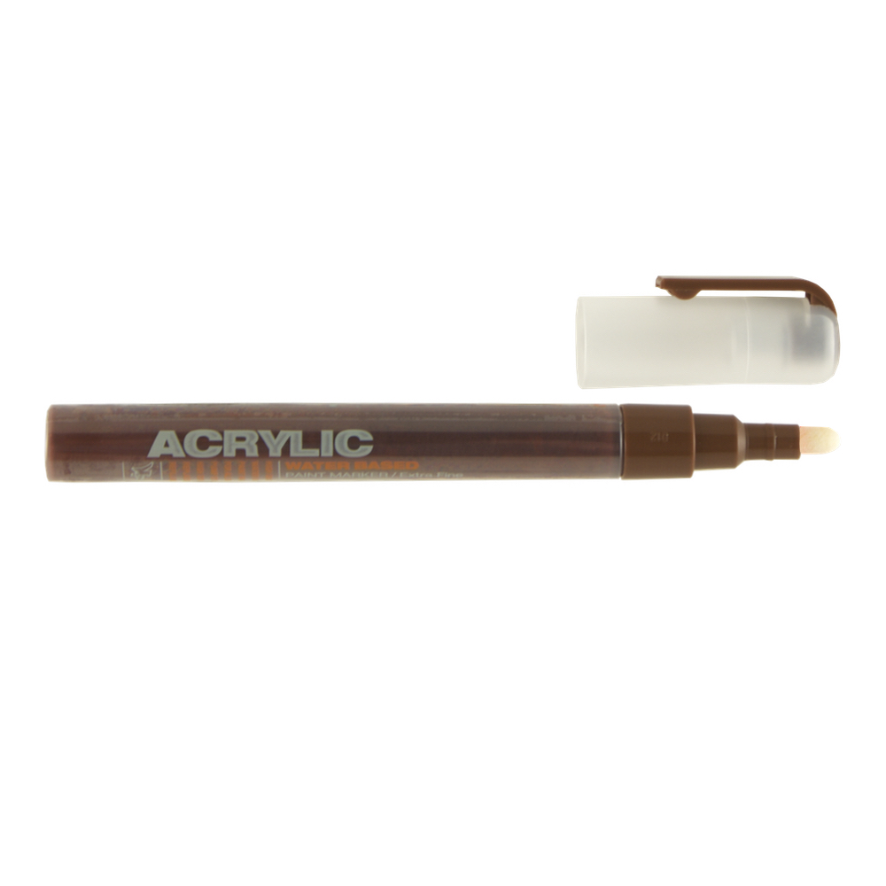 Montana Acrylic Paint Marker .7Mm Brown