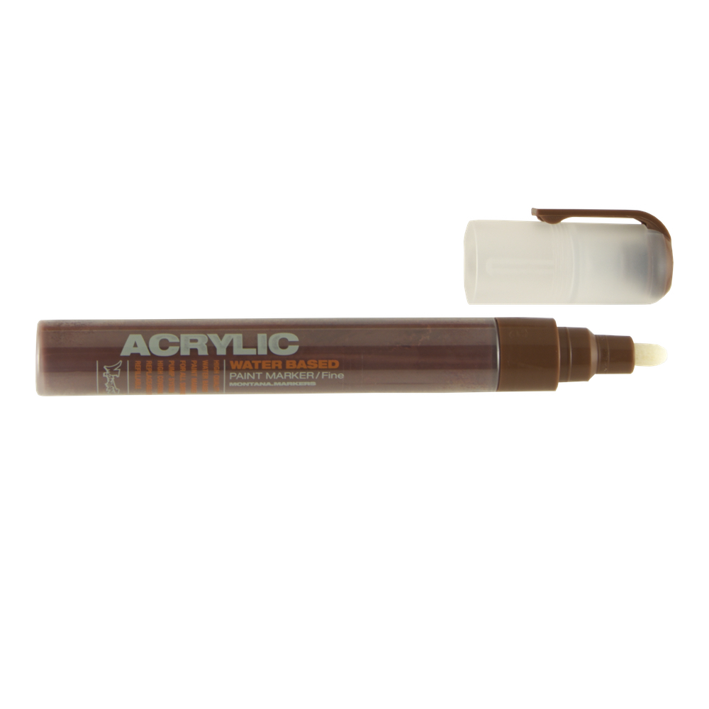 Montana Acrylic Paint Marker 2Mm Brown
