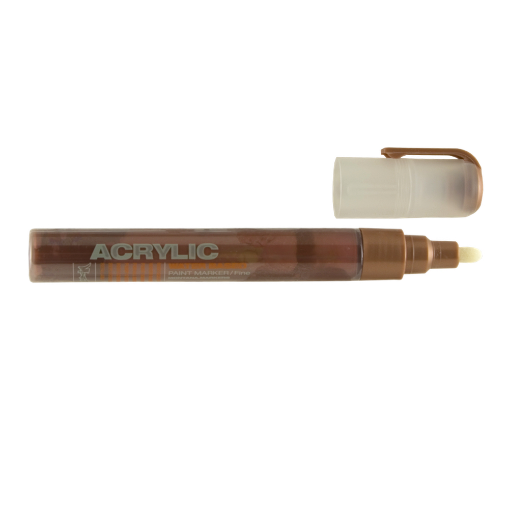 Montana Acrylic Paint Marker 2Mm Copper Matte