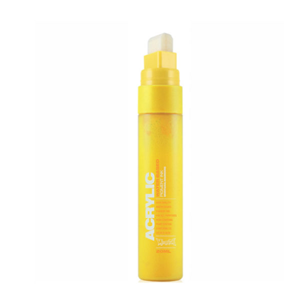Montana Acrylic Paint Marker 15Mm Yellow Lt