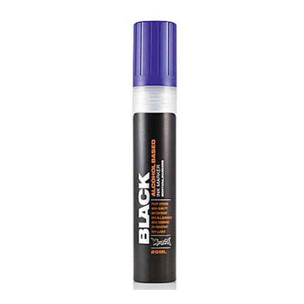 Montana Black Marker 10Mm Chisel Blue