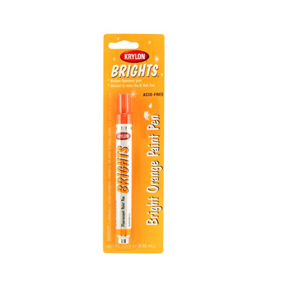Krylon Brights Orange Paint Pen