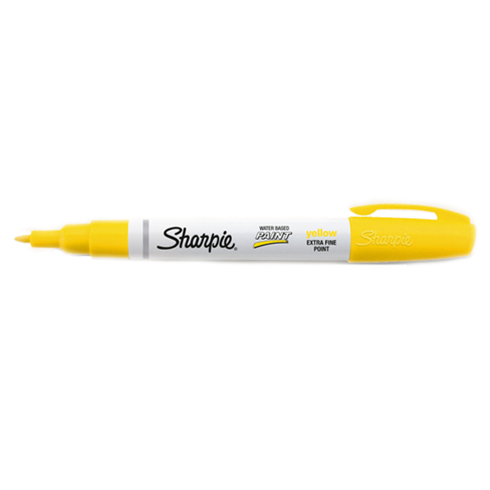 Sharpie Poster Marker Extra-Fine Yellow
