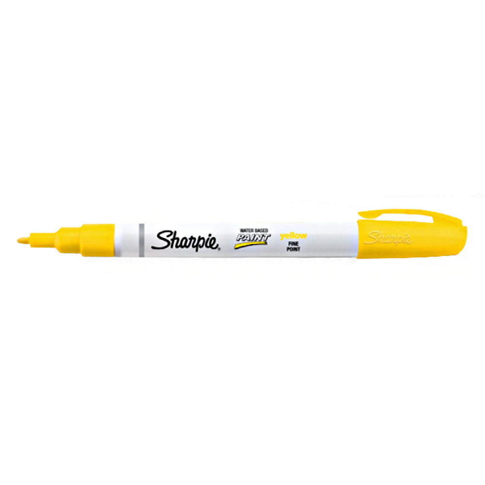 Sharpie Poster Marker Fine Yellow