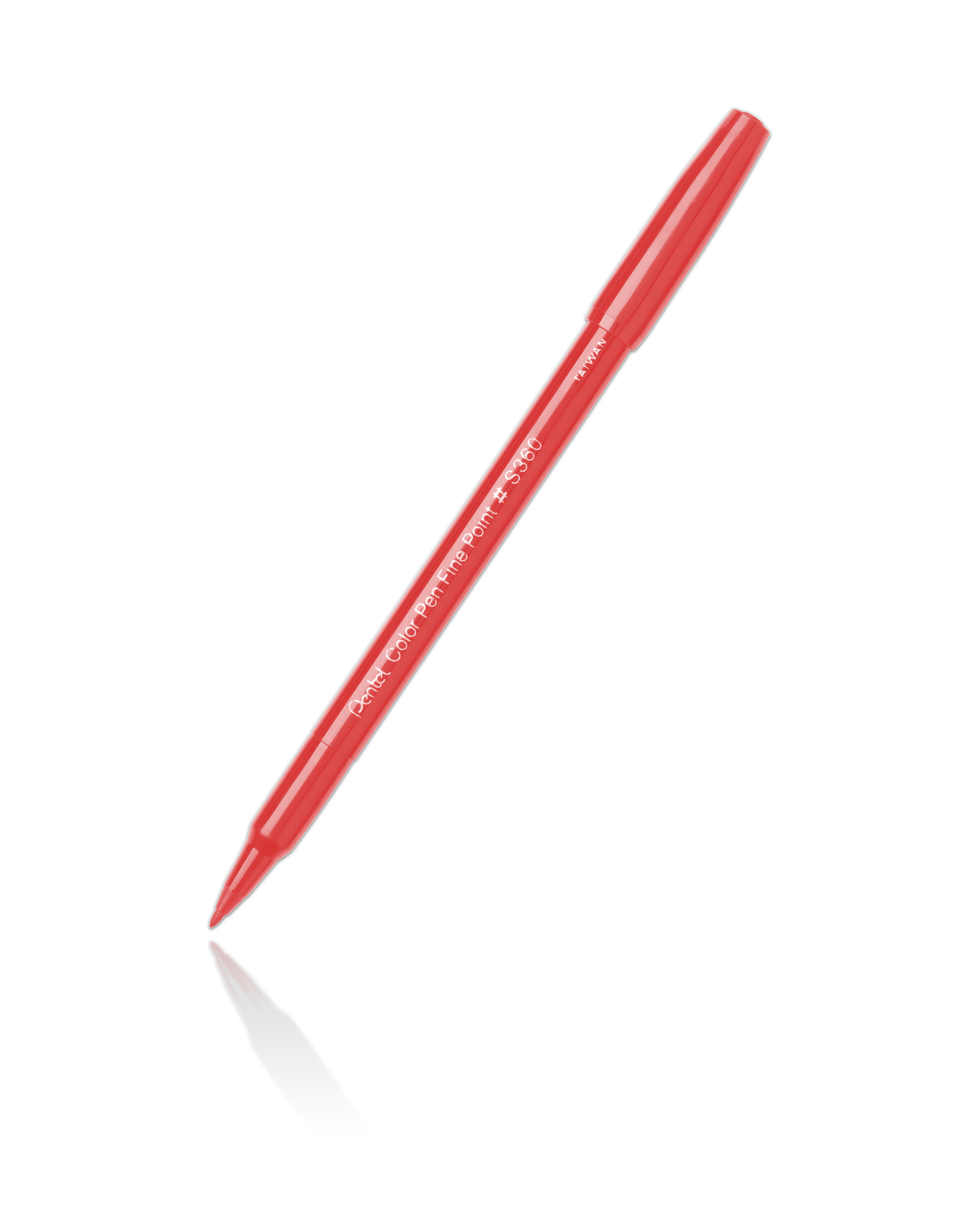 Pentel S360 Color Pen Red-102