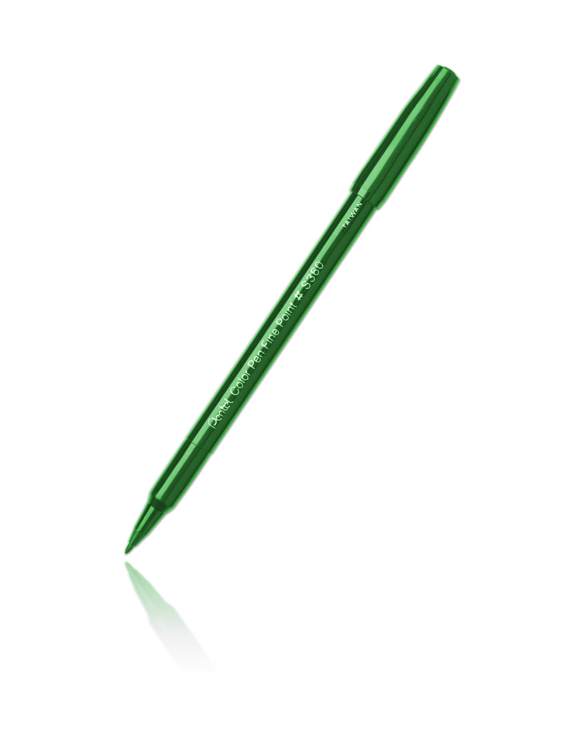 Pentel S360 Color Pen Green-104
