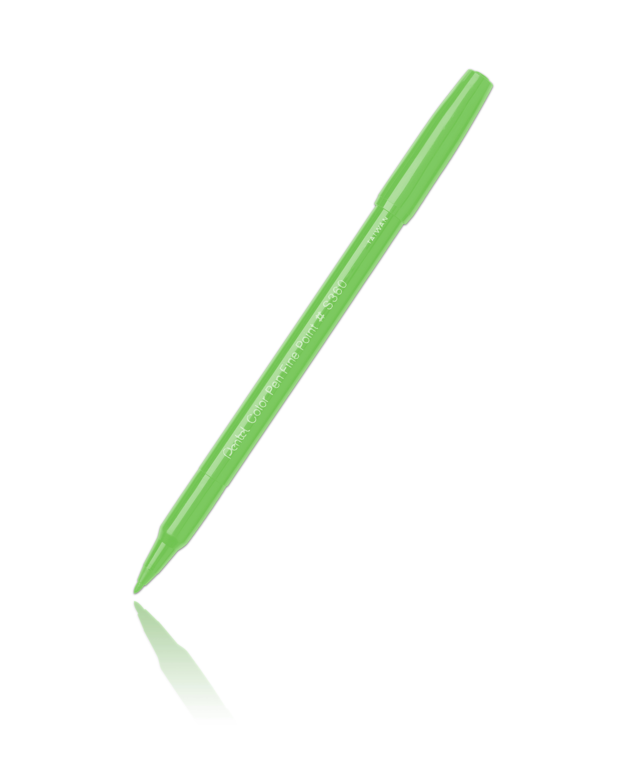 Pentel S360 Color Pen Light Green-111
