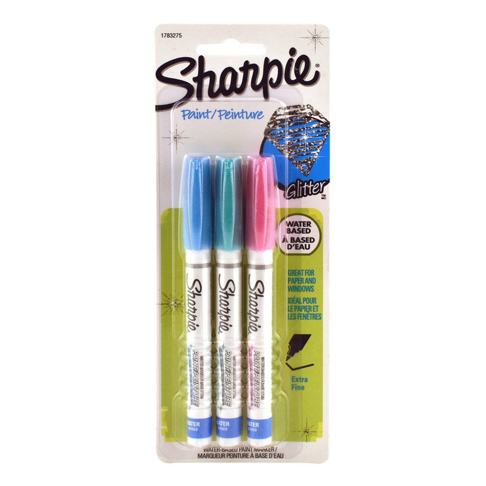 Sharpie Glitter Paint Marker Set Of 3