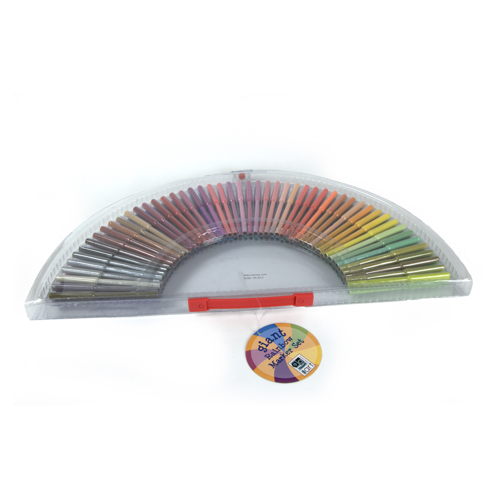Art Alternatives Rainbow Marker Set/100