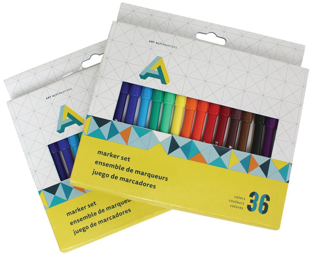 Art Alternatives Marker Set/36