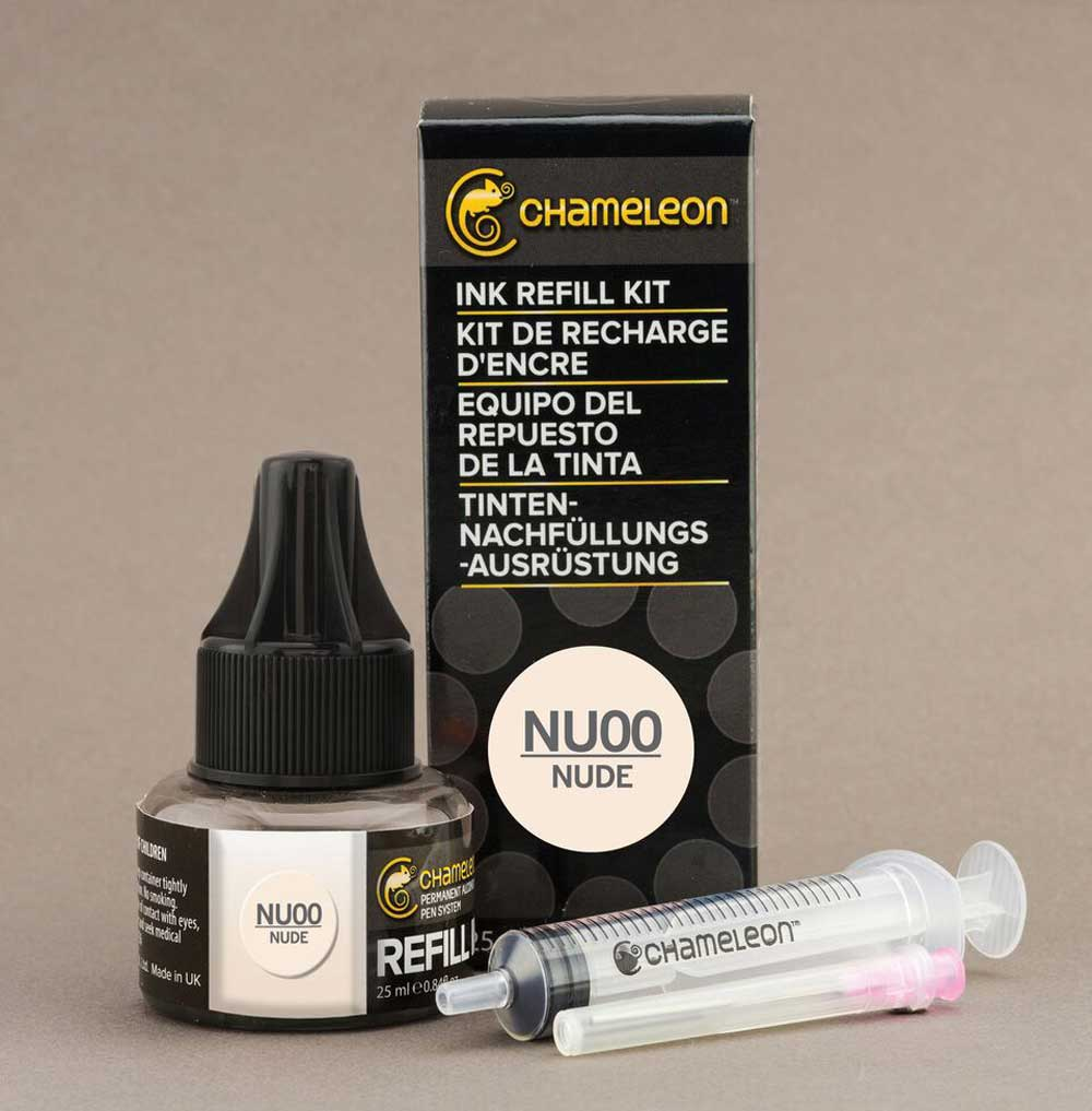 Chameleon Ink Refill 25Ml Nu00 Nude