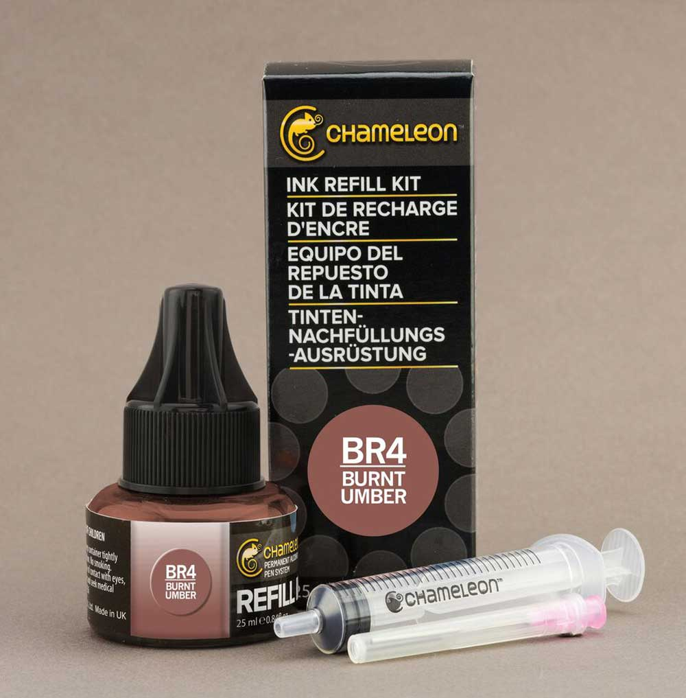 Chameleon Ink Refill 25Ml Br4 Burnt Umber