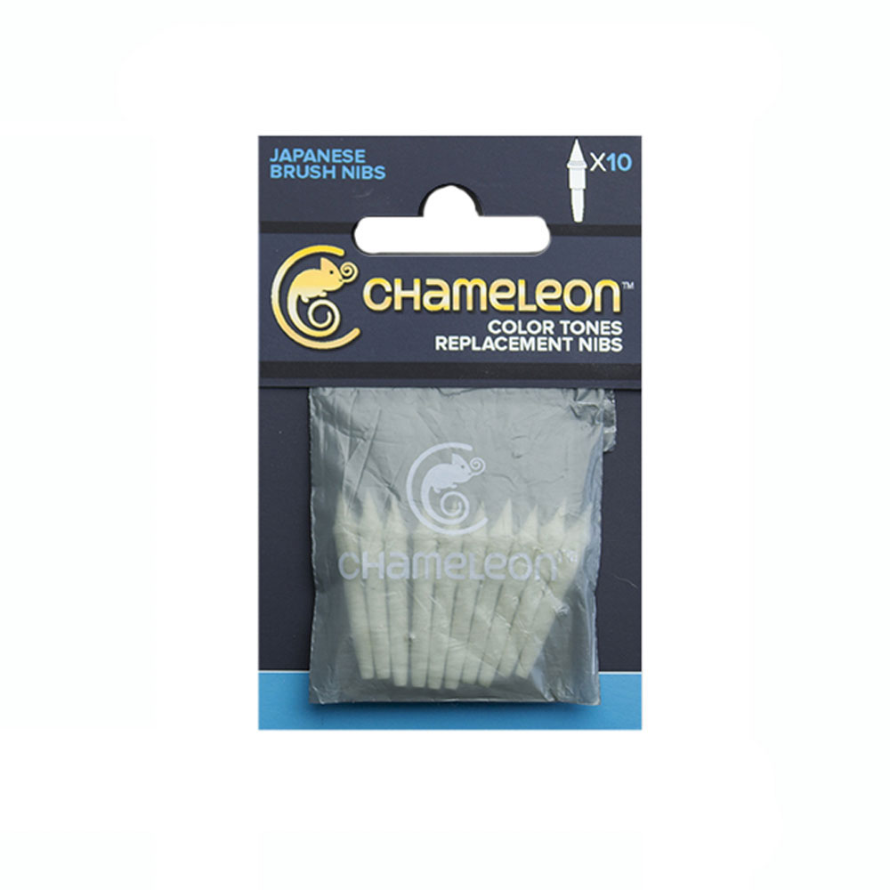 Chameleon Pen Replacement Brush Tips 10/Pk