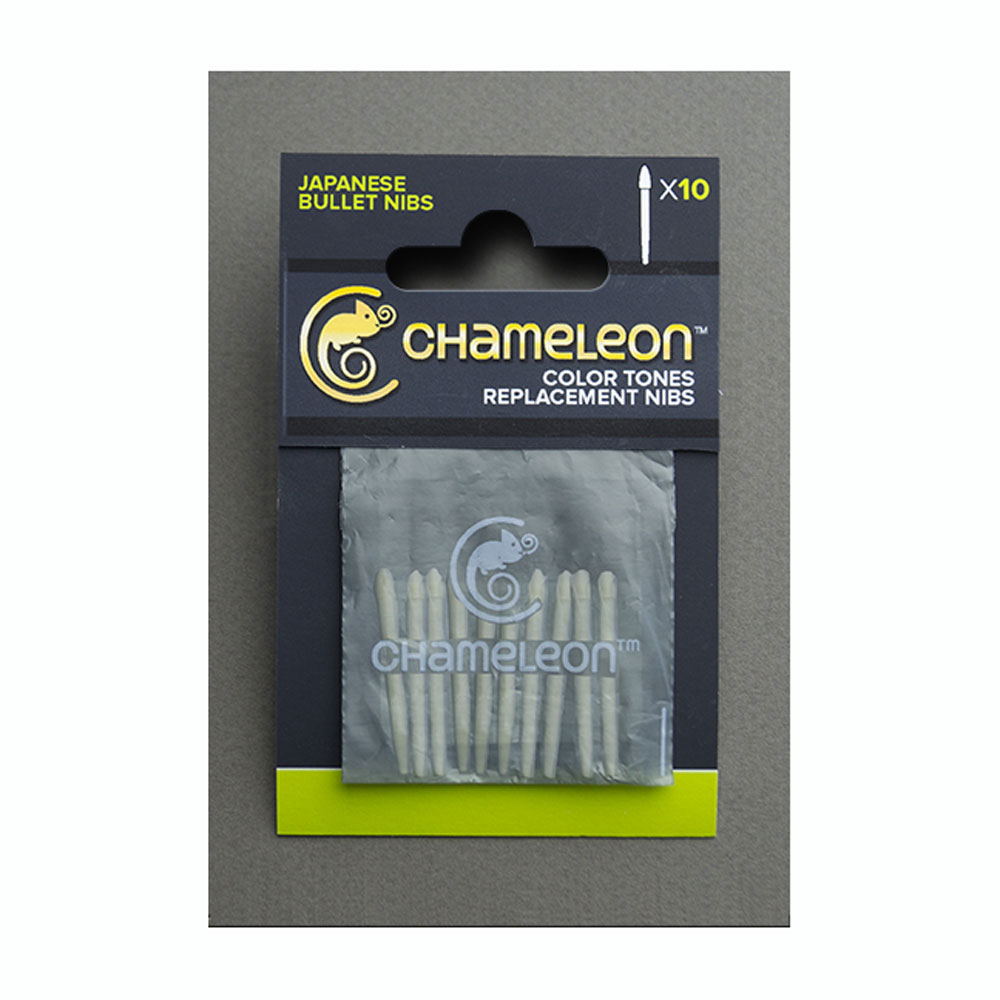 Chameleon Pen Replacement Bullet Tips 10/Pk