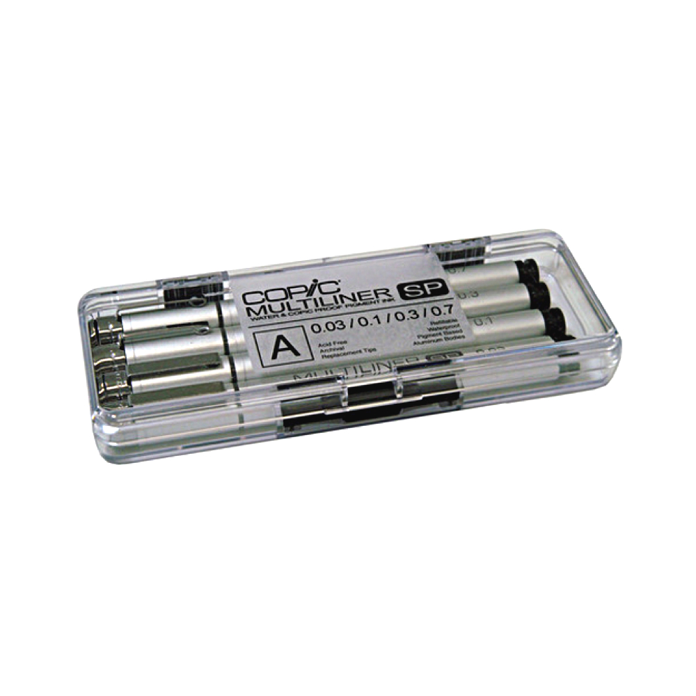 Copic Multiliner Sp Set A 4-Black