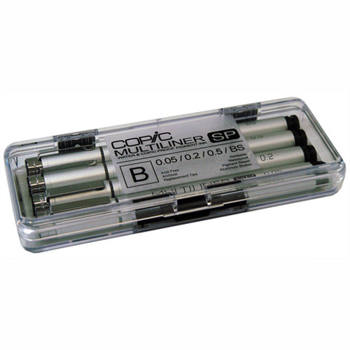 Copic Multiliner Sp Set B 4-Black