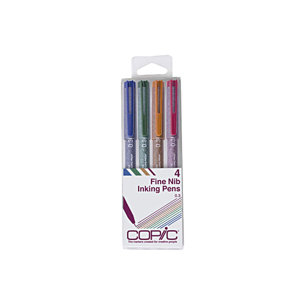 Copic Multiliner Color 4-Piece Set