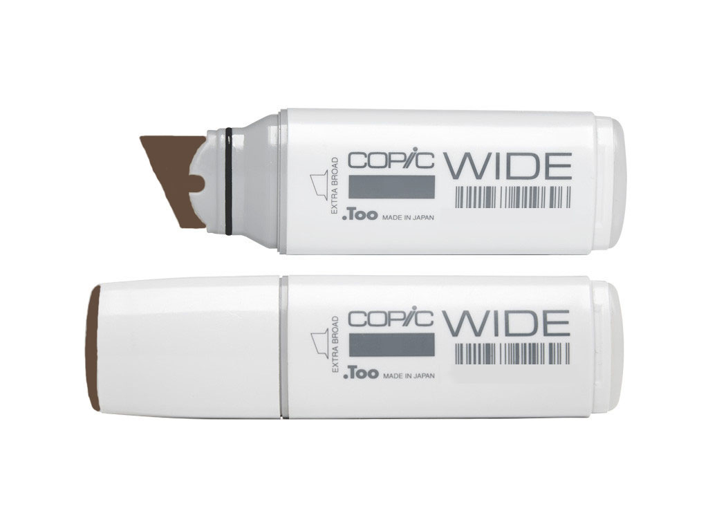 Copic Wide Marker E49 Dark Bark
