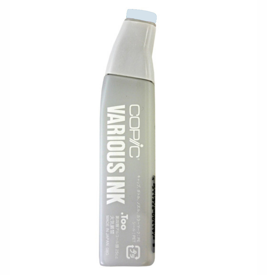 Copic Various Ink Refill B91 Pale Gray Blue
