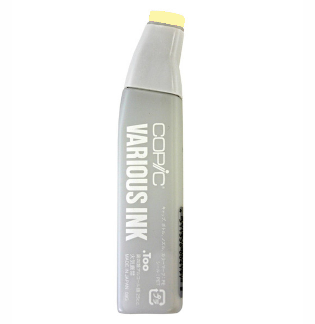 Copic Various Ink Refill Y13 Lemon Yellow