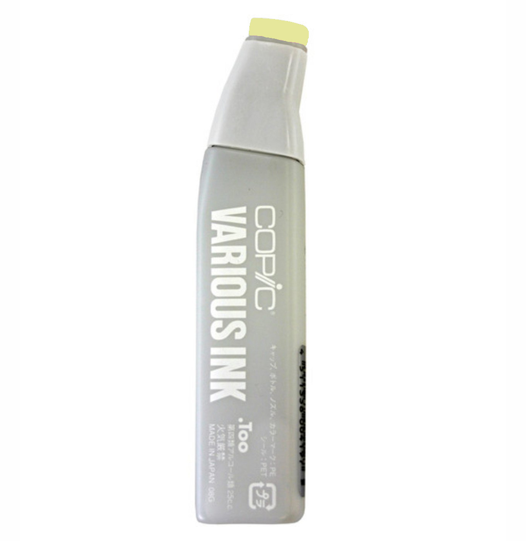 Copic Various Ink Refill Yg00 Mimosa Yellow
