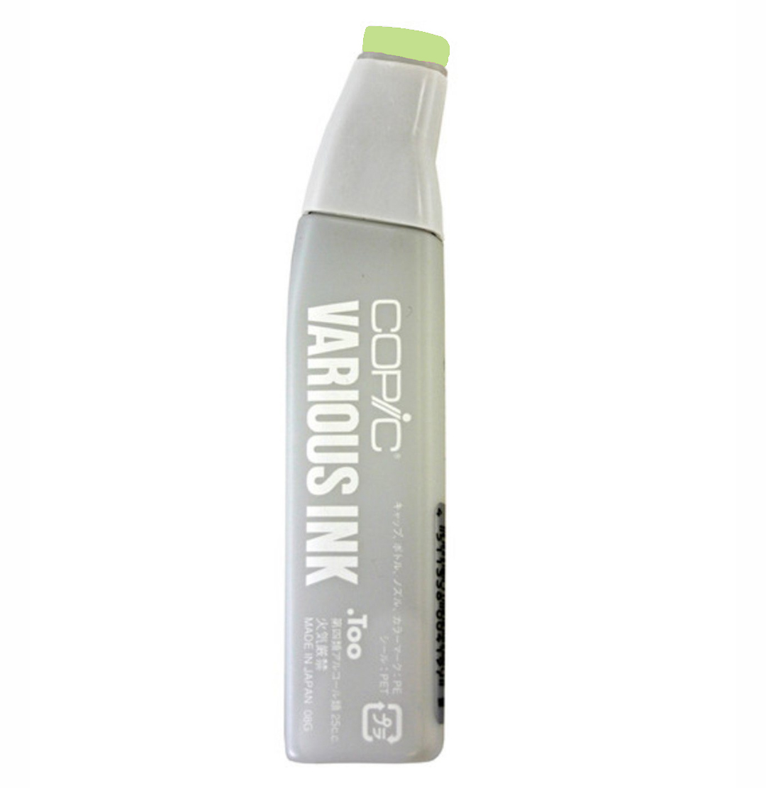 Copic Various Ink Refill Yg06 Yellowish Green