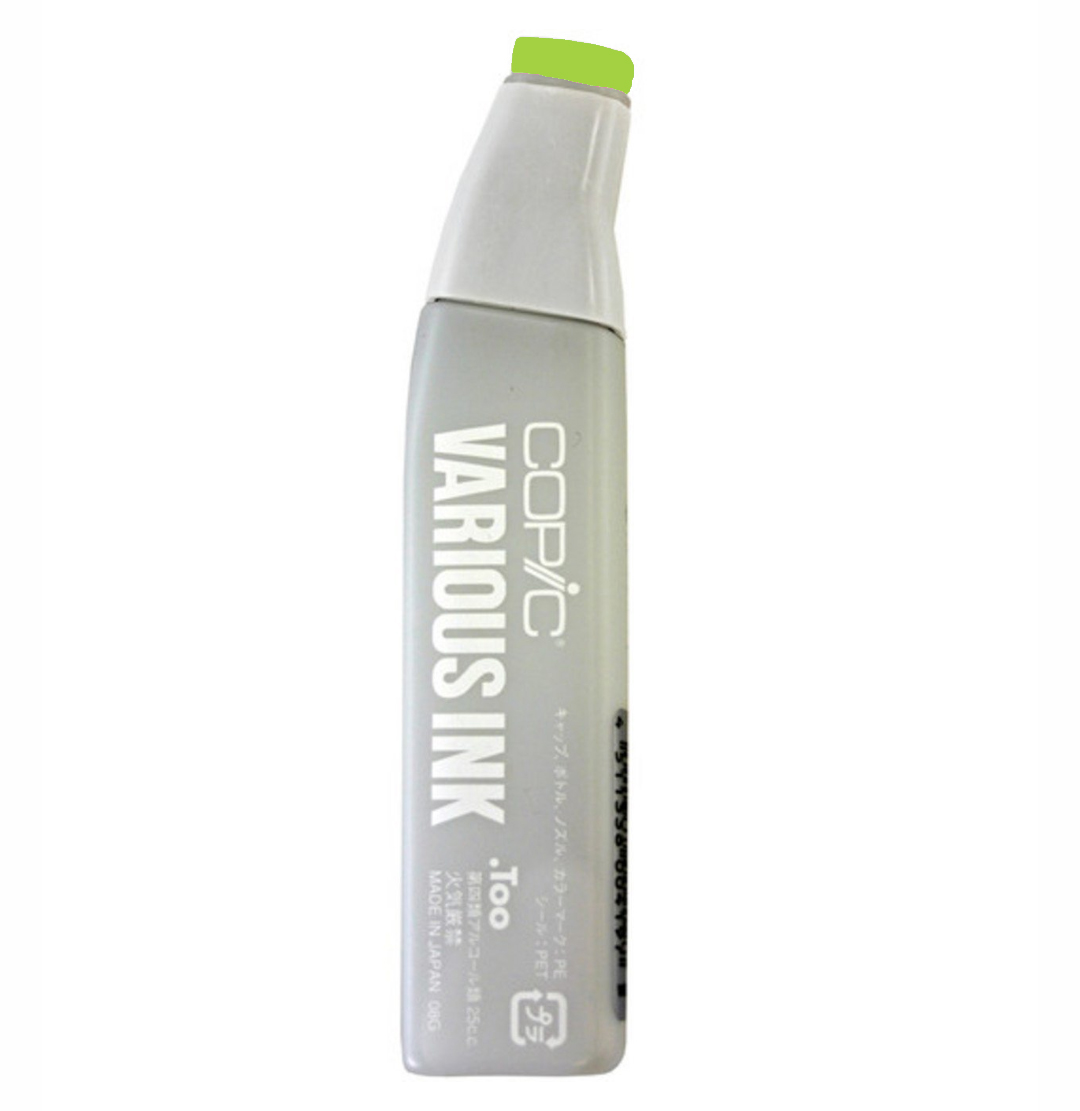 Copic Various Ink Refill Yg07 Acid Green
