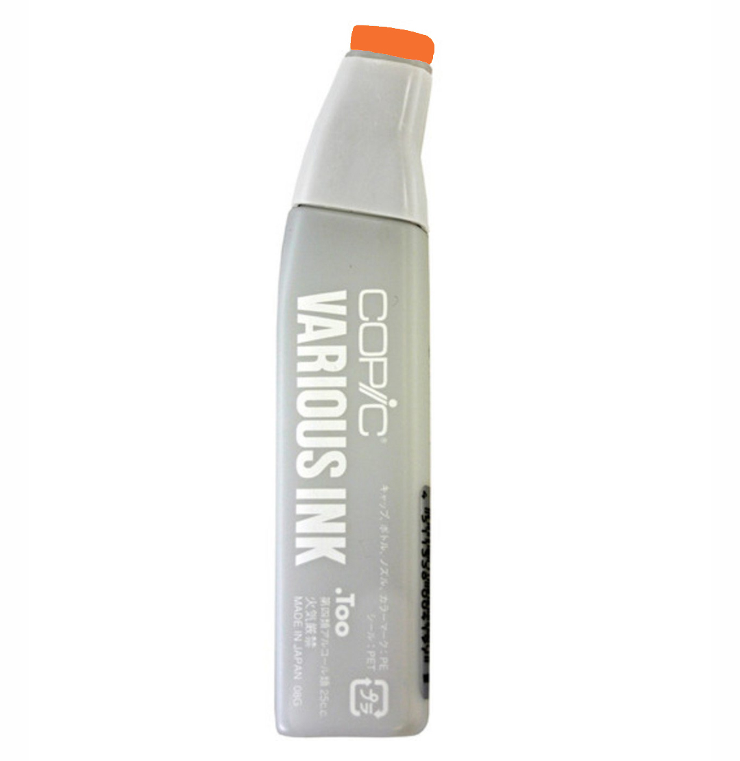 Copic Various Ink Refill Yr07 Cadmium Orange