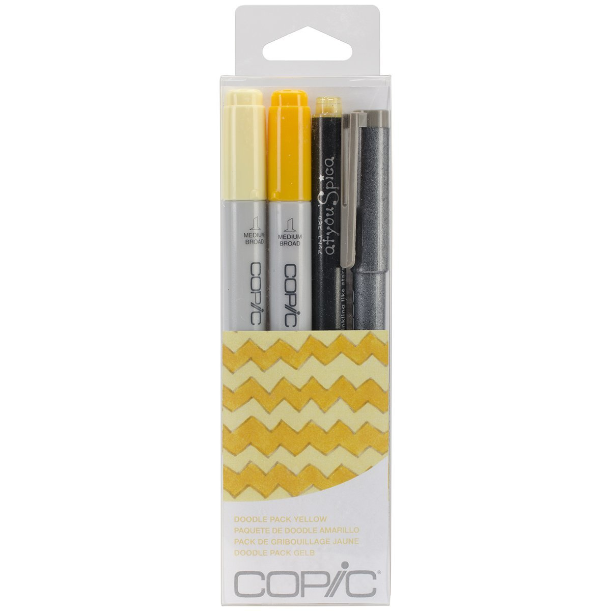 Copic Doodle Pack Yellow