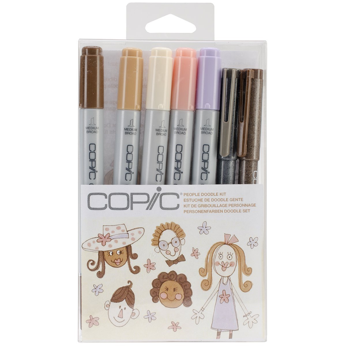 Copic Doodle Pack People
