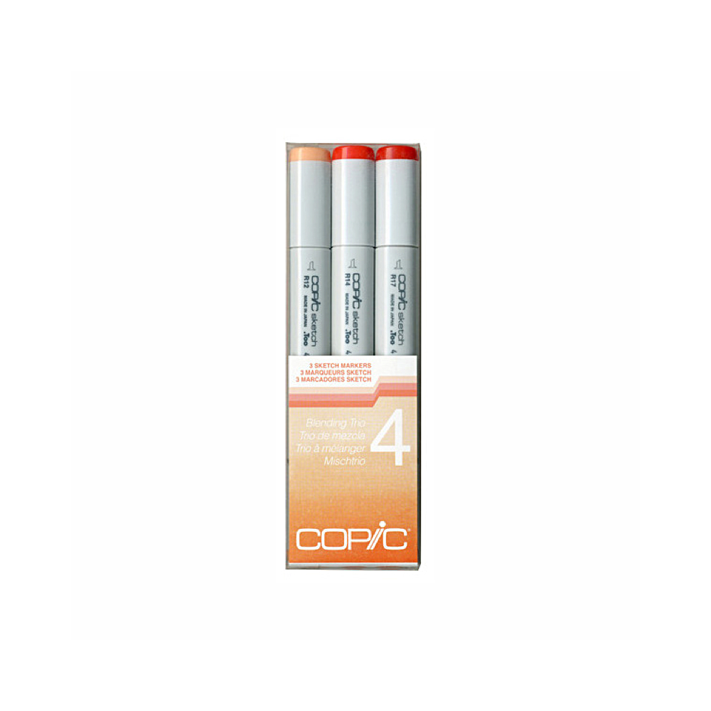 Copic Sketch Blending Trio 4 Red