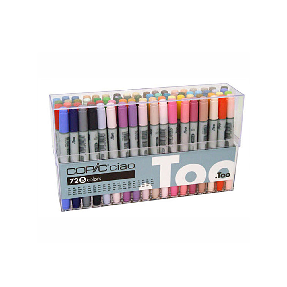 Copic Ciao Markers 72 Color B Set