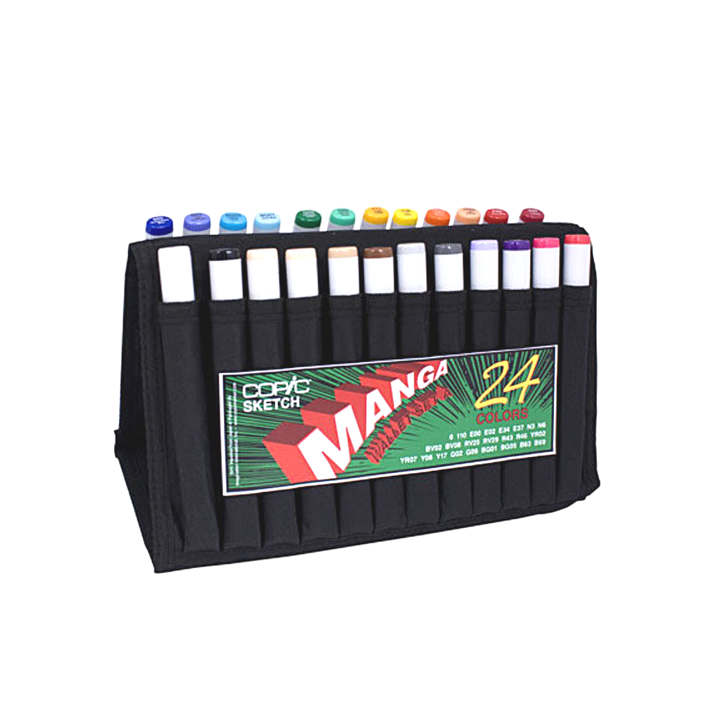 Copic Sketch Manga Wallet 24 Set A