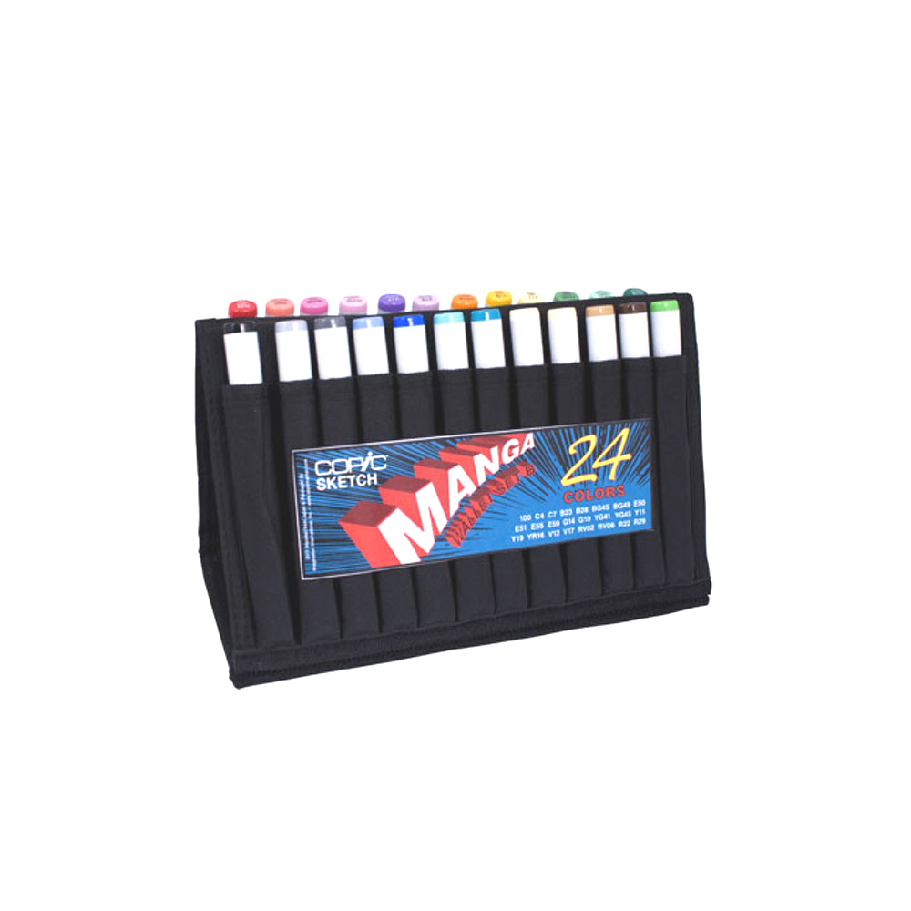 Copic Sketch Manga Wallet 24 Set B