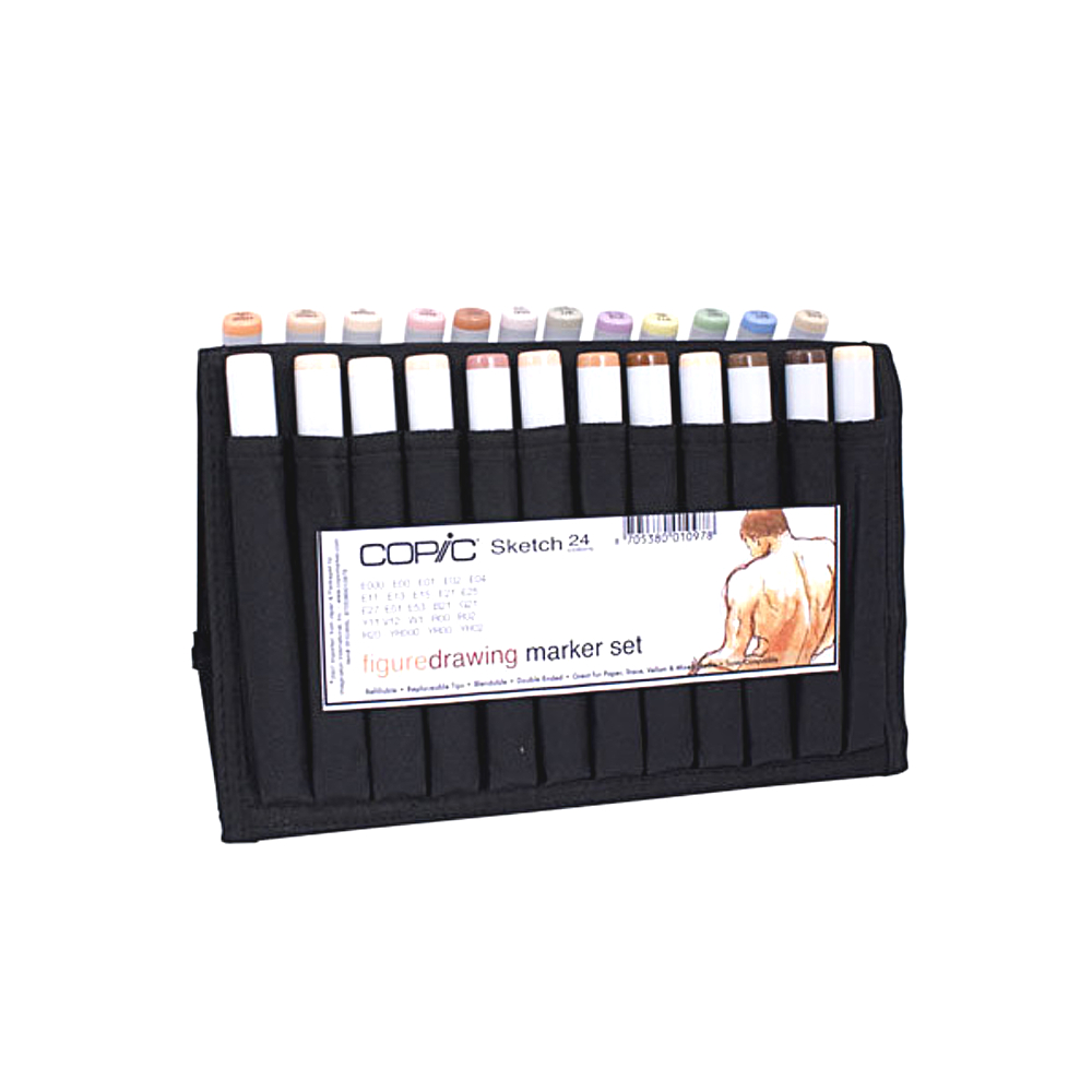 Copic Sketch Figure Drawing Wallet