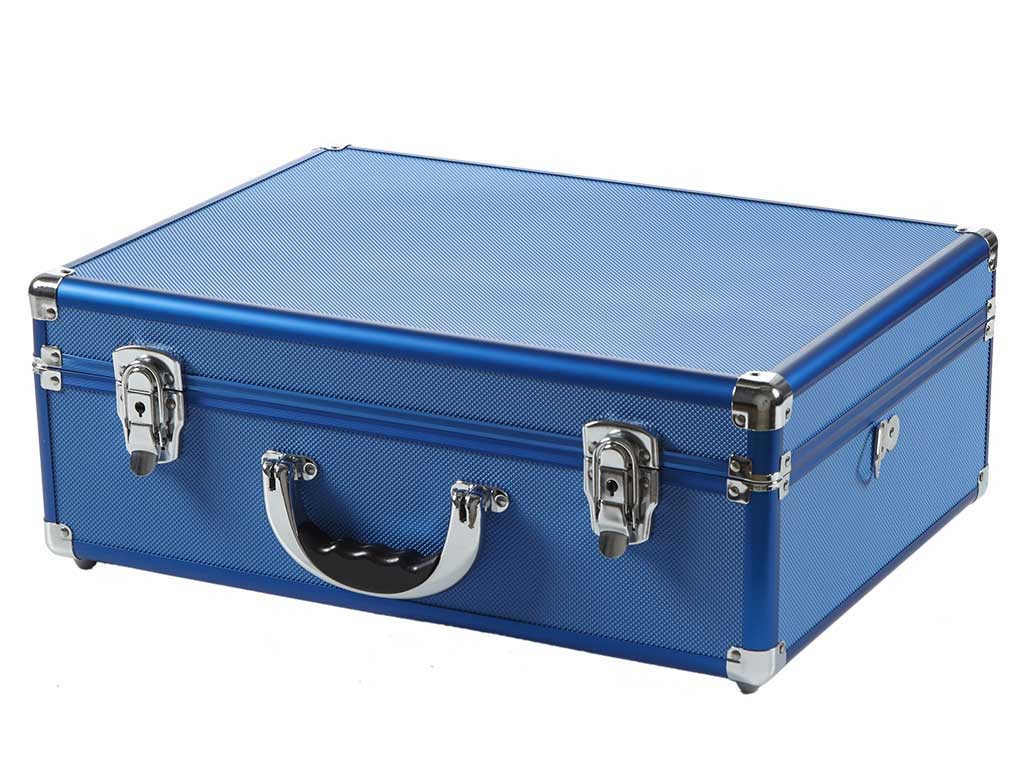 Copic Aluminum Case With Strap Blue