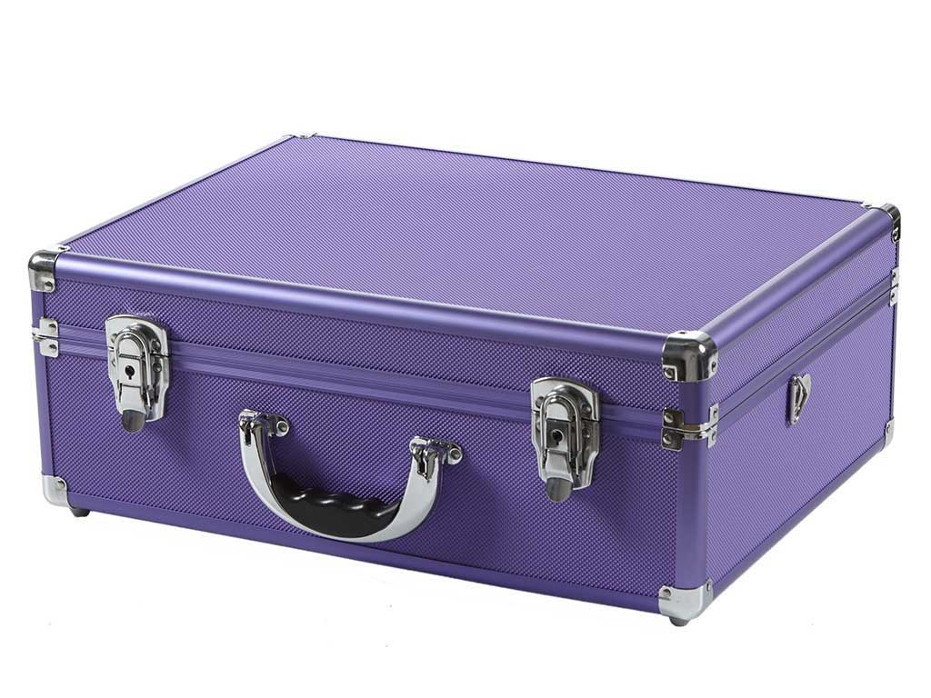 Copic Aluminum Case With Strap Purple